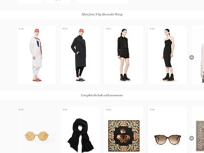 Exploring PDP. WIP ui design minimalism minimal simple web shop webshop e-commerce ecommerce