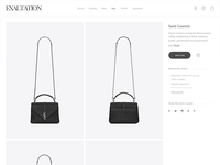 Exploratory product page