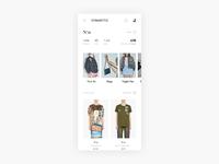WIP - Exploring Designers Page