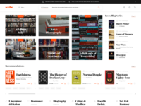 Buy Books Homepage Concept - E-commerce