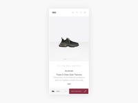 Urge Sneakers Product Page Exploration