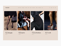 Needy Homepage Exploration - E-Commerce