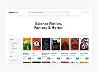 Buy Books Grid View - E-commerce Exploration