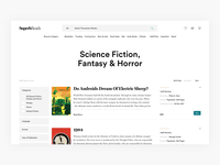 Buy Books List View - E-commerce Exploration