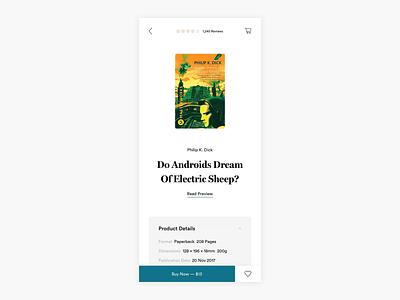 Buy Books Responsive Exploration - Read Preview - E-commerce bookshop webshop minimalism design ui e-commerce ecommerce