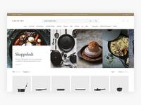 WIP Karaktär Brand/Designer Page - E-commerce Exploration