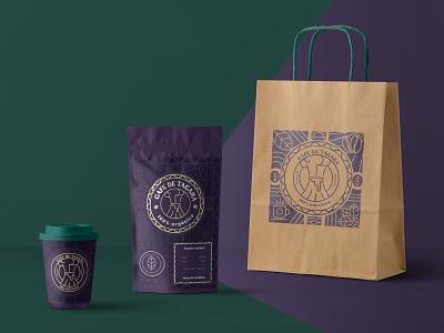 Café de Tacana Branding logo design branding product visualization package design packaging
