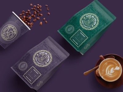 Café de Tacaná packaging logo design design product visualization packaging package design branding