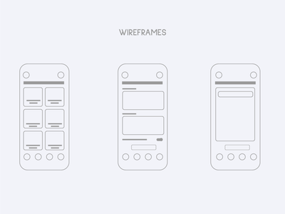 AS APP WIREFRAME wireframe vector app development ux design ux ui app design