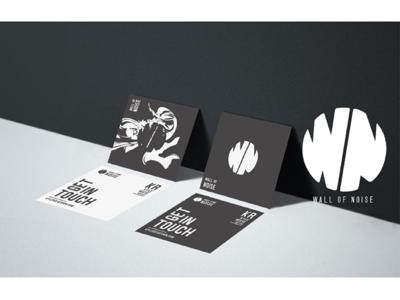 Branding Mockup record label music minimal colour illustration graphics art creative branding