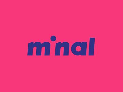Minal Studio Identity abstract style branding brand shapes typography minimal studio colour graphic identity