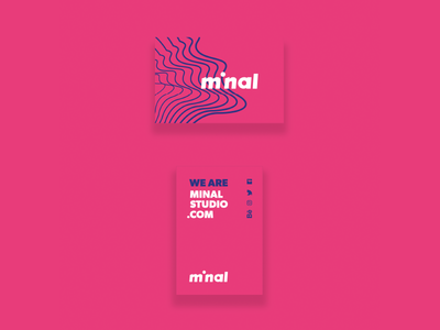 Minal Studio Business Cards