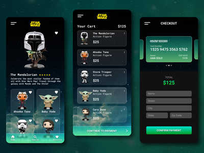 Star Wars App Concept starwars disneyplus disney glassmorphism themandalorian branding appdesign uxdesigner uxdaily uidesigner uidesign uidaily ui design app