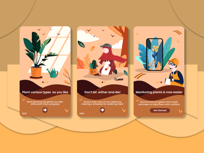Flora Diary - Manage your Plants uidesign user experience plants user interface design userinterface figma design plant diary plant app ui ux app ui  ux design figmadesign uiux ui design ui figma design app design branding app design android app