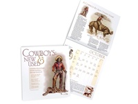 Cowboys: New & Used Calendar