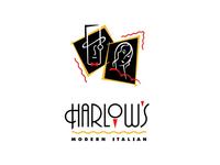 Harlow's Modern Italian logo