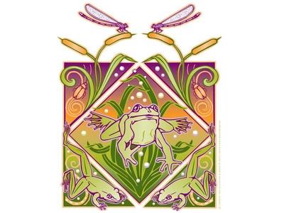 PARC Frogs Illustration