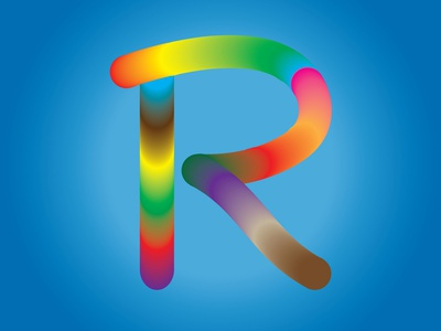 Letter logo R