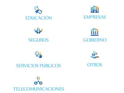 Iconos Servicios