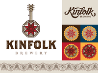 Kinfolk Branding Exploration (Brewer's Star System)