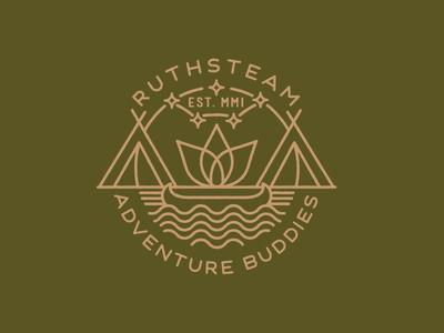 Ruthsteam Adventure Buddies Badge