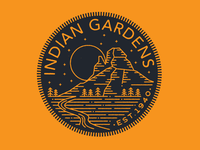 Indian Garden Badge