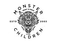 Monster Children Dire Wolf