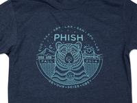 Phish Fall Tour Shirt phish bear illustration tshirt