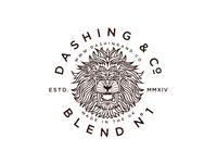 Dashing & Co. Lion Badge final