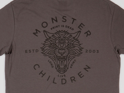 Monster Children Dire Wolf Shirt