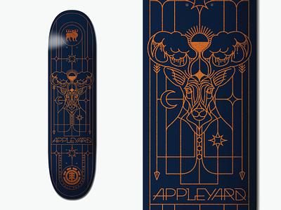 Element Skateboard - Mark Appleyard deck skateboard element deck