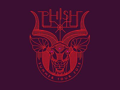 Phish Antelope Gramophone illustration gramophone antelope phish