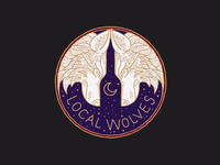 Local Wolves Wine mark