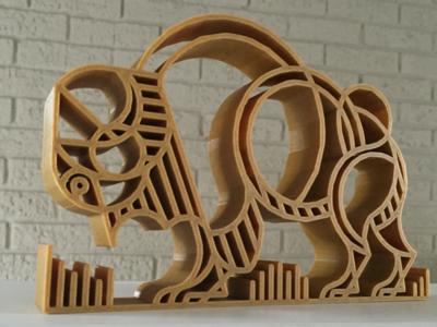 ROAM 3D 3d printing beer roam buffalo