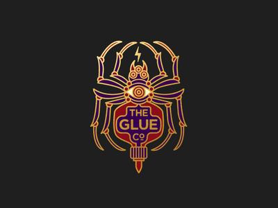 The Glue Co. illustration glue spider