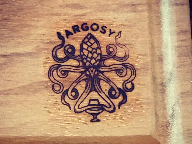 Argosy brand brand hophead hydra octopus