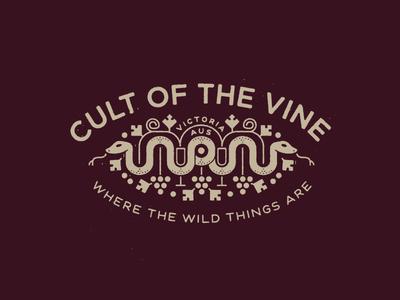 Cult  glass eye cult wine snake