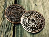 Phish Three-eyed Beaver Coin