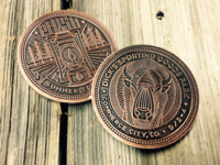 Phish Summer Tour Coins