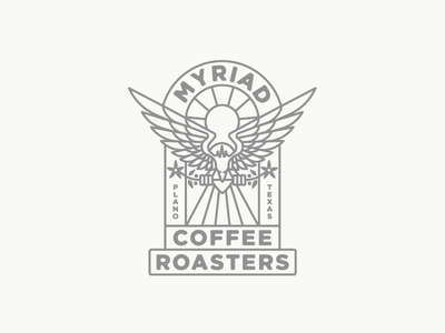 Myriad Coffee Roasters mark logo sun texas phoenix coffee