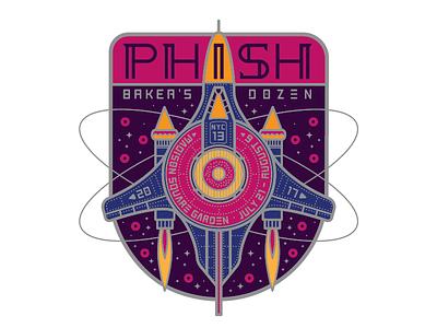 Phish Starship doughnut space phish