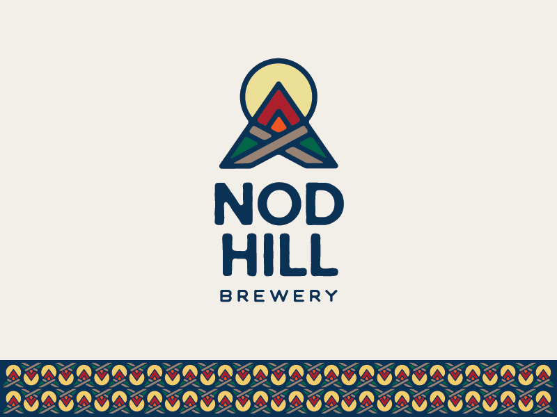 NOD HILL BREWERY brewing mark logo beer brewery