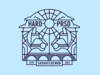 Hardpressed Print Studio Cougars