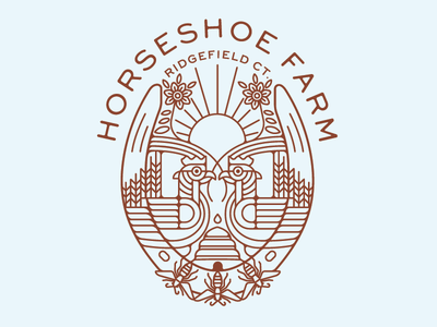 Horseshoe Farm sun honeycomb grain flower bee egg chicken horseshoe farm