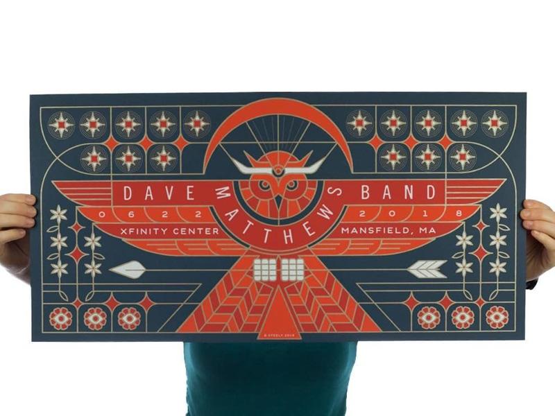 Dave Matthews Band Poster poster owl