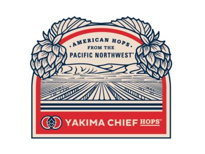 YaKima Chief Hops Illustration hops illustration beer