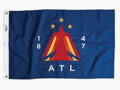Atlanta Flag phoenix flag atlanta