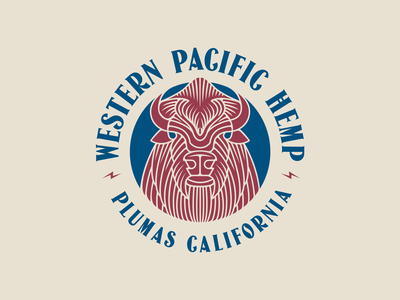 Western Pacific Hemp buffalo logo