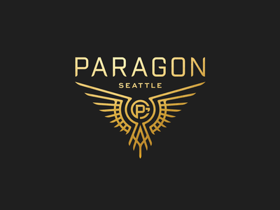 Paragon Seattle bird mark logo