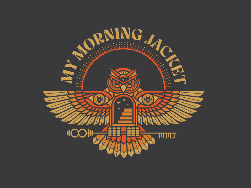 My Morning Jacket Owl illustration owl